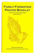 Family Formation Catholic Prayer Booklet